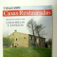 Coleccionismo de Revistas y Periódicos: CASA & CAMPO - CASAS RESTAURADAS EXTRA Nº 10 - 1998. Lote 194973235