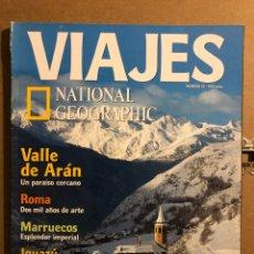 Coleccionismo de Revistas y Periódicos: VIAJES NATIONAL GEOGRAPHIC N° 13 (2000). VALLE DE ARÁNZAZU, ROMA, MARRUECOS, IGUAZÚ, AUSTRALIA. Lote 194975420