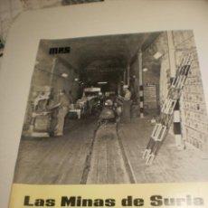 Coleccionismo de Revistas y Periódicos: BOLETÍN LAS MINAS DE SURIA. JULIO-SEPTIEMBRE 1970 Nº 44-45 (BUEN ESTADO). Lote 194977602