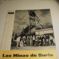 Coleccionismo de Revistas y Periódicos: BOLETÍN LAS MINAS DE SURIA. ENERO 1970 Nº 41 (BUEN ESTADO). Lote 194977627