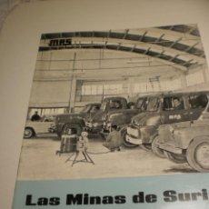 Coleccionismo de Revistas y Periódicos: BOLETÍN LAS MINAS DE SURIA. NOVIEMBRE 1969 Nº 40 (BUEN ESTADO). Lote 194977636