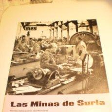Coleccionismo de Revistas y Periódicos: BOLETÍN LAS MINAS DE SURIA. JULIO 1969 Nº 38 (BUEN ESTADO). Lote 194977643