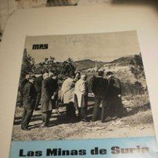 Coleccionismo de Revistas y Periódicos: BOLETÍN LAS MINAS DE SURIA. MARZO 1969 Nº 36 (BUEN ESTADO). Lote 194977663
