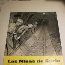 Coleccionismo de Revistas y Periódicos: BOLETÍN LAS MINAS DE SURIA. ENERO 1969 Nº 35 (BUEN ESTADO). Lote 194977676