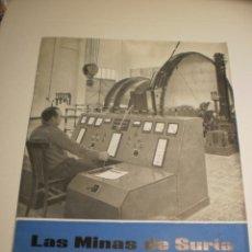 Coleccionismo de Revistas y Periódicos: BOLETÍN LAS MINAS DE SURIA. JULIO 1963 Nº 8 (BUEN ESTADO). Lote 194977938