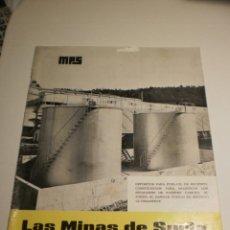 Coleccionismo de Revistas y Periódicos: BOLETÍN LAS MINAS DE SURIA. MARZO 1966 Nº 18 (ESTADO NORMAL). Lote 194977988