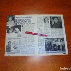 Coleccionismo de Revistas y Periódicos: CLIPPING 1989: NANCY REAGAN. Lote 194978341