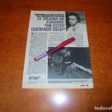 Coleccionismo de Revistas y Periódicos: CLIPPING 1989: EUGENIO, HUMORISTA CATALÁN. . Lote 194978356