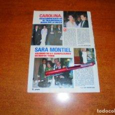 Coleccionismo de Revistas y Periódicos: CLIPPING 1989: SARA MONTIEL, EL PUMA, J.L. LÓPEZ VÁZQUEZ - CAROLINA DE MÓNACO. Lote 194978357