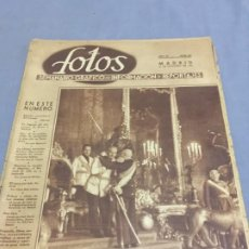 Coleccionismo de Revistas y Periódicos: FOTOS 12-10-1940 CENTENARIO DEL PILAR FRANCO BOMBARDEO PORTLAND. Lote 194983632