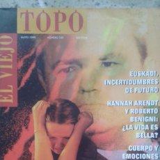 Coleccionismo de Revistas y Periódicos: EL VIEJO TOPO 129 MAYO 1999. BERTOLUCCI. JOAQUIN JORDÁ. . Lote 194983756