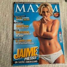 Coleccionismo de Revistas y Periódicos: REVISTA MAXIM Nº 25 MAYO DE 2006 JAIME PRESSLY. Lote 194986472