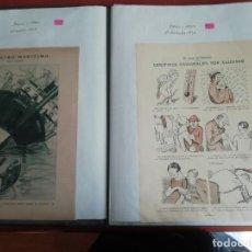 Coleccionismo de Revistas y Periódicos: ALBUM 26 VIÑETAS DE XAUDARÓ AÑOS 20 DE REVISTA ORIGINAL BLANCO Y NEGRO. Lote 194989848