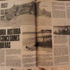 Coleccionismo de Revistas y Periódicos: ISLA CRISTINA , HUELVA .LA OSCURA HISTORIA DE LAS CONCESIONES MARISQUERAS . AÑO 1975 . 4 PAGINAS. Lote 194990786