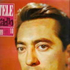 Colecionismo de Revistas e Jornais: REVISTA TELE RADIO Nº 299, 16-22 SEPTIEMBRE 1963, JOSE LUIS COLL, LINA MORGAN, GELIA GÁMEZ.. Lote 194993542