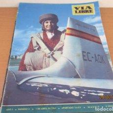 Coleccionismo de Revistas y Periódicos: REVISTA VIA LIBRE Nº4. Lote 195003241