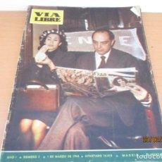 Coleccionismo de Revistas y Periódicos: REVISTA VIA LIBRE Nº3. Lote 195003270
