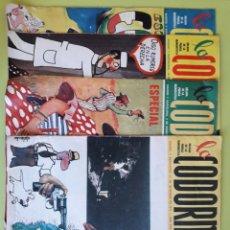 Coleccionismo de Revistas y Periódicos: LA CODORNIZ 4 NUMEROS DE 1975 1735 1741 1743 1744. Lote 195013117