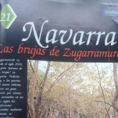 Coleccionismo de Revistas y Periódicos: ESPAÑA ENCANTADA Nº 21 LAS BRUJAS DE ZUGARRAMURDI. EL CHUPACABRAS DE NAVARRA. Lote 195034348