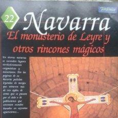 Coleccionismo de Revistas y Periódicos: ESPAÑA ENCANTADA Nº 22 MONASTERIO DE LEYRE. EUNATE CENTRO TEMPLARIO.ESCUDO DE ESTELLA.OVNIS BARDENAS. Lote 195034647