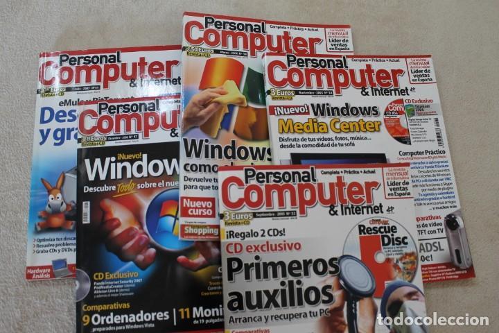 LOTE 5 REVISTAS PERSONAL COMPUTER CON SUS CD'S (Coleccionismo - Revistas y Periódicos Modernos (a partir de 1.940) - Otros)