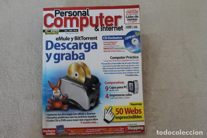 Coleccionismo de Revistas y Periódicos: LOTE 5 REVISTAS PERSONAL COMPUTER CON SUS CDS - Foto 2 - 195036388