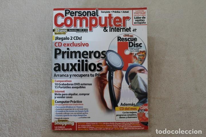 Coleccionismo de Revistas y Periódicos: LOTE 5 REVISTAS PERSONAL COMPUTER CON SUS CDS - Foto 3 - 195036388