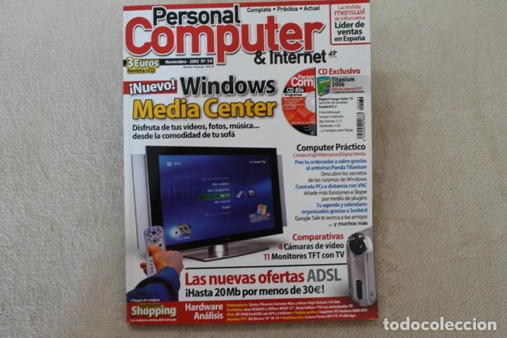 Coleccionismo de Revistas y Periódicos: LOTE 5 REVISTAS PERSONAL COMPUTER CON SUS CDS - Foto 4 - 195036388