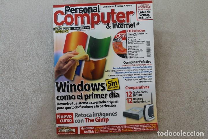Coleccionismo de Revistas y Periódicos: LOTE 5 REVISTAS PERSONAL COMPUTER CON SUS CDS - Foto 5 - 195036388