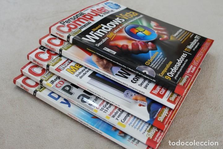 Coleccionismo de Revistas y Periódicos: LOTE 5 REVISTAS PERSONAL COMPUTER CON SUS CDS - Foto 7 - 195036388