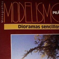 Coleccionismo de Revistas y Periódicos: MANUAL MODELISMO PRÁCTICO GRANADA DIORAMAS SENCILLOS DESIERTO ROCOSO LAND-ROVER SELVA JEEP ANFIBIO. Lote 195036922