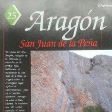 Coleccionismo de Revistas y Periódicos: ESPAÑA ENCANTADA Nº 25 SAN JUAN DE LA PEÑA. EL DUENDE DE ZARAGOZA. Lote 195041807