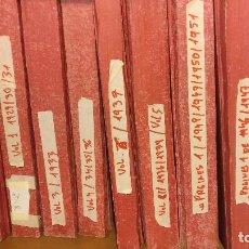Coleccionismo de Revistas y Periódicos: NOTAS GRAFICAS DE LA VANGUARDIA ( 1929 A 1937) PRIMERES PAGINES (1946 A 1951). Lote 195041917