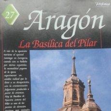 Coleccionismo de Revistas y Periódicos: ESPAÑA ENCANTADA Nº 27 BASILICA DEL PILAR. FANTASMA DEL HOTEL CORONA DE ARAGON. MONSTRUO DE TORRALBA. Lote 195042066