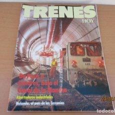 Coleccionismo de Revistas y Periódicos: REVISTA TRENES HOY Nº 41 . Lote 195046705