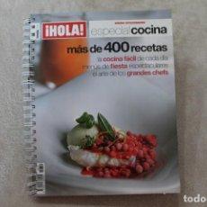 Coleccionismo de Revistas y Periódicos: REVISTA HOLA ESPECIAL COCINA NUMERO EXTRAORDINARIO 2001. Lote 195047592