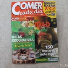 Coleccionismo de Revistas y Periódicos: REVISTA COMER CADA DIA ESPECIAL NAVIDAD Nº 48 DICIEMBRE 1998. Lote 195048596