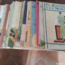 Coleccionismo de Revistas y Periódicos: 25 REVISTAS EL HOGAR Y LA MODA AÑOS 1930-1933. Lote 195051555