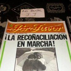 Coleccionismo de Revistas y Periódicos: REVISTA SATÍRICA POR FAVOR 113. Lote 195053821
