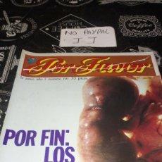 Coleccionismo de Revistas y Periódicos: REVISTA SATÍRICA POR FAVOR 103. Lote 195053911