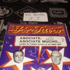 Coleccionismo de Revistas y Periódicos: REVISTA SATÍRICA POR FAVOR 102. Lote 195053947