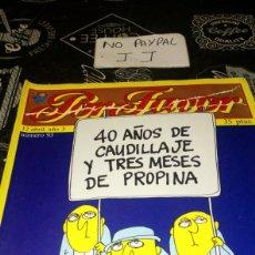 Coleccionismo de Revistas y Periódicos: REVISTA SATÍRICA POR FAVOR 93. Lote 195054252