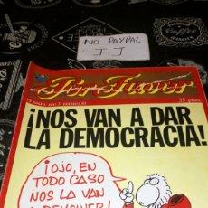 Coleccionismo de Revistas y Periódicos: REVISTA SATÍRICA POR FAVOR 81. Lote 195054460