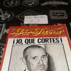 Coleccionismo de Revistas y Periódicos: REVISTA SATÍRICA POR FAVOR 84. Lote 195054600