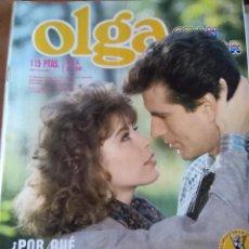 Coleccionismo de Revistas y Periódicos: FOTONOVELA OLGA GRAN COLOR NÚM. 143. POR QUÉ NO ME HAS DICHO NUNCA AMOR?. Lote 195060287
