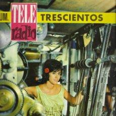 Coleccionismo de Revistas y Periódicos: REVISTA TELE RADIO Nº 300, CAMILO JOSE CELA, DALI EN PAGINAS INTERIORES. Lote 195064375