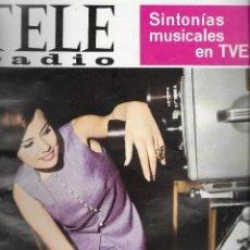 Coleccionismo de Revistas y Periódicos: REVISTA TELE RADIO Nº 474, 23-29 ENERO 1967, MARI-FRANCIS, MIREILLE MATHIEU EN PAGINAS INTERIORES. Lote 195066967