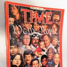 Coleccionismo de Revistas y Periódicos: REVISTA TIME 6 JULIO 1987. WE THE PEOPLE. CONSTITUTION AT 200. Lote 195068853