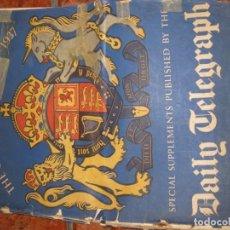 Coleccionismo de Revistas y Periódicos: PERIODICO THE CORONATION MAY 1937 SUPLEMENT DAILY TELEGRAGRAPH GEORGE VI . Lote 195068885