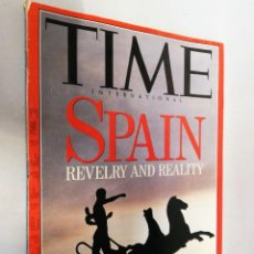 Coleccionismo de Revistas y Periódicos: REVISTA TIME. 4 MAY 1992. SPAIN. REVELRY AND REALITY. Lote 195068942